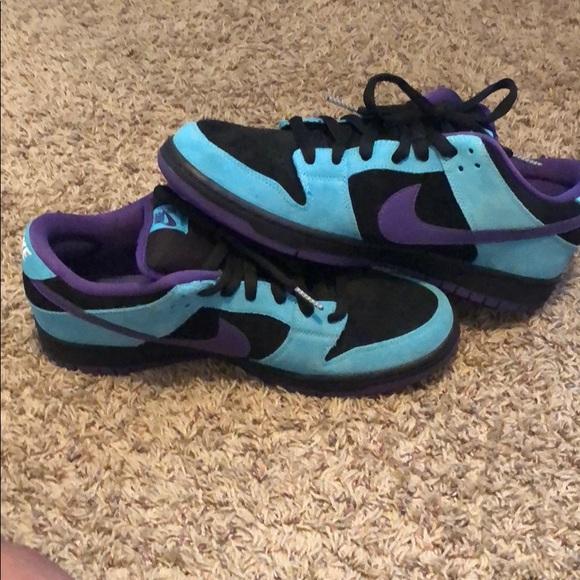 Nike Dunk Low Pro Sb Skeletor Sneakers
